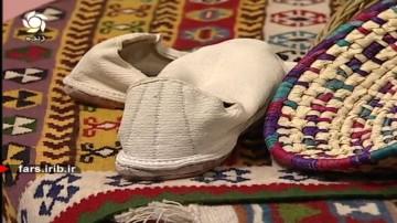 دست بافته های هنرمندان کازرونی