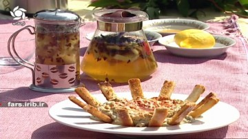 پیش غذای مُـتبِل و دمنوش به لیمو