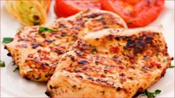 استیک مرغ و گوشت