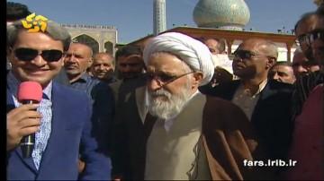 صحبت های نماینده ولی فقیه در استان و امام جمعه شیراز در خصوص انتخابات