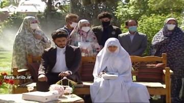 جشن زیبای عقد و عروسی زوج جوان فارسی