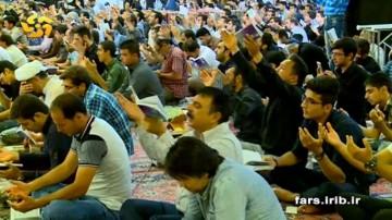 گزارش خبری شب های قدر در شیراز