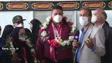 استقبال از قهرمانان شیرازی پارالمپیک