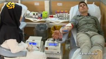 اهدا خون در شبهای قدر