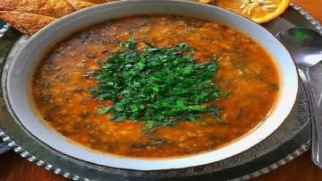سوپ پرتقال و رزماری