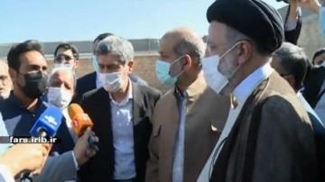 گزارشی از سفر رییس جمهور به فارس