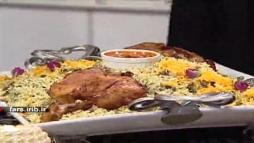 شوید لوبیا شیرازی