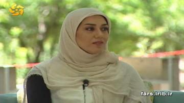 لیلا بهرامی قهرمان کاراته شیرازی