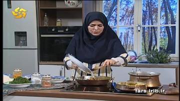 آموزش کلم پلو شیرازی