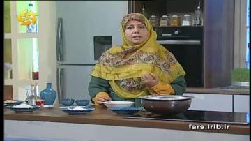 بخش آشپزی کاشانه مهر آموزش حلوای لاری