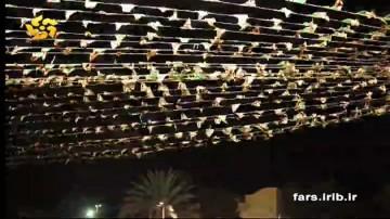 پخش مسابقات فوتبال ایران در بوستان های شیراز