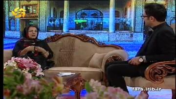 گفتگو با  فرزانه منصوری همسر محترم  نادر ابراهیمی