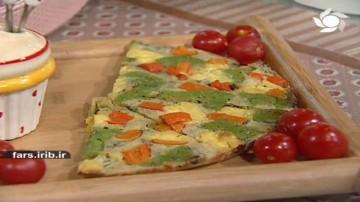شورینی پنیر و سبزی