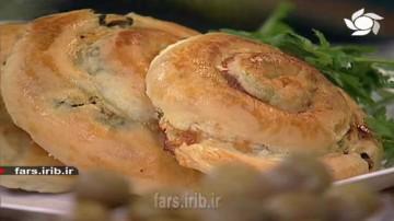 نان رولی اسفناج