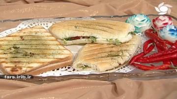 ساندویچ مرغ