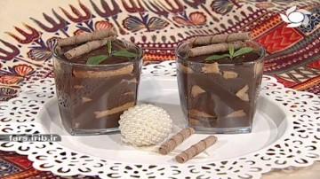 دسر ترایفل شکلاتی