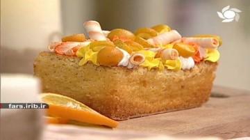 کیک شیفون پرتقال