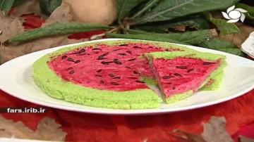 چیز کیک هندوانه