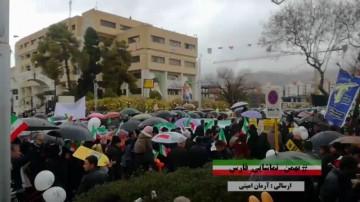 فیلم  ارسالی مخاطبان راهپیمایی 22 بهمن
