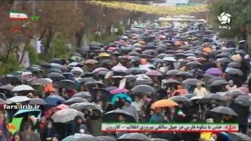 راهپیمایی یوم الله 22 بهمن کازرون