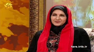 گفتگو با فاطمه گودرزي در خوشا شيراز 6 اسفند