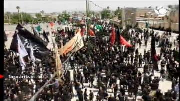 مراسم عزاداری تاسوعای حسینی در شیراز