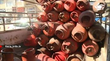 کمبود سیلندر گاز در شیراز