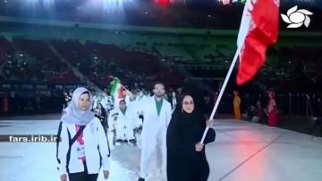 دیدار پرچمدار المپیک با رهبر انقلاب