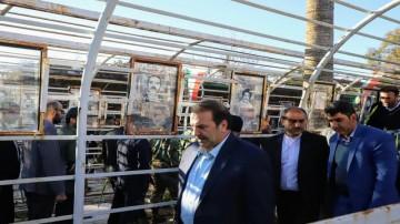 تجدید میثاق مسئولان استان با شهدا