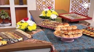 شیرینی گل محمدی