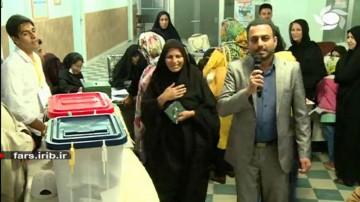 گزارش انتخابات از فسا - 19:00