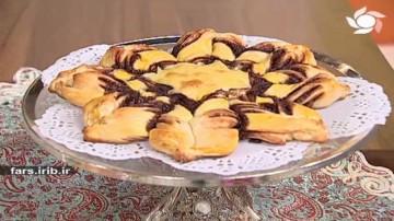 نان شکلات فندقی