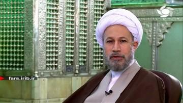 سخن آیت الله دژکام با مردم شیراز