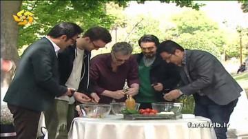 مسابقه بین المللی درست کردن سالاد شیرازی