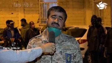 ضد عفونی کردن معابر شهر شیراز