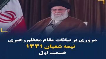 ویدئو کامنت بیانات رهبری ۲۱ فروردین ۹۹ - قسمت اول