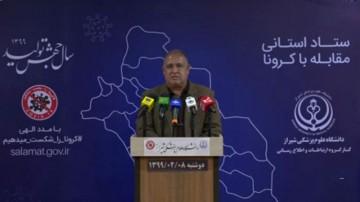 جدیدترین آمار کرونا در فارس
