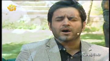 زنده خوانی حسین توکلی در خوشا شیراز
