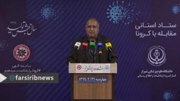 تازه ترین آمار کرونا در فارس، 31 اردیبهشت 99