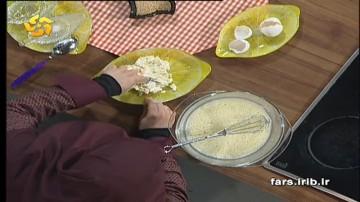 کیک پنیر و شوید