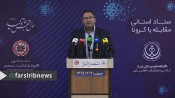 تازه ترین آمار کرونا در فارس، 02 خرداد99