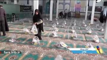 کمک های مومنانه مردم بهمن
