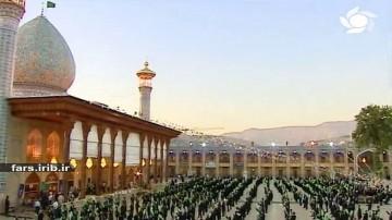 صفای حرم که داره بوی شاه مشهد