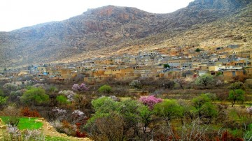 دشتک، روستای پلکانی فارس