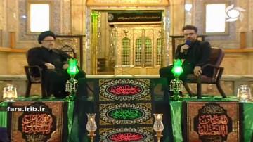 دفن سید الشهدا در کربلا